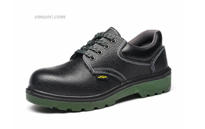 Men's Safety Shoes Oil Resistant Acid And Alkali Insulation Work Shoes Best Safety Step Shoes