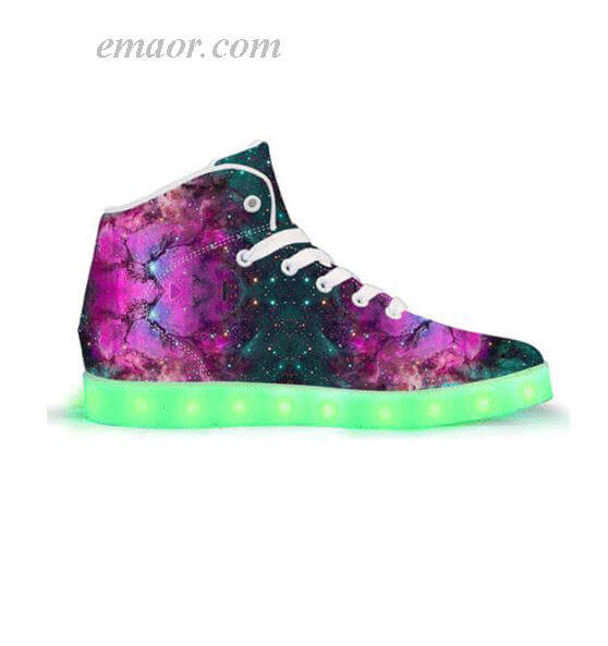 Light Up High Top Sneakers Extratert Restrial-APP Controlled High Top LED Shoes Light Up Shoes for Sale