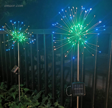 Led Christmas Lights120 LED Outdoor Garden String Light Solar Lamps on Sale