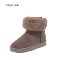Ladies Ankle Boots Woman's Sneaker BootsWomen Winter Snow Boots Womans Boots for Sale