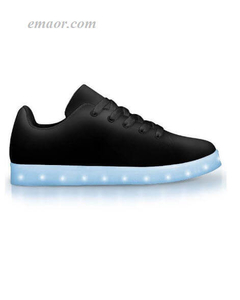 Best Custom Light Up Shoes Black Out -APP Controlled Low Top LED Shoes Wish Light Up Shoes