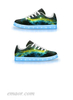 Best Light Up Shoes Golden Way-APP Controlled Low Top Led Light Sneakers