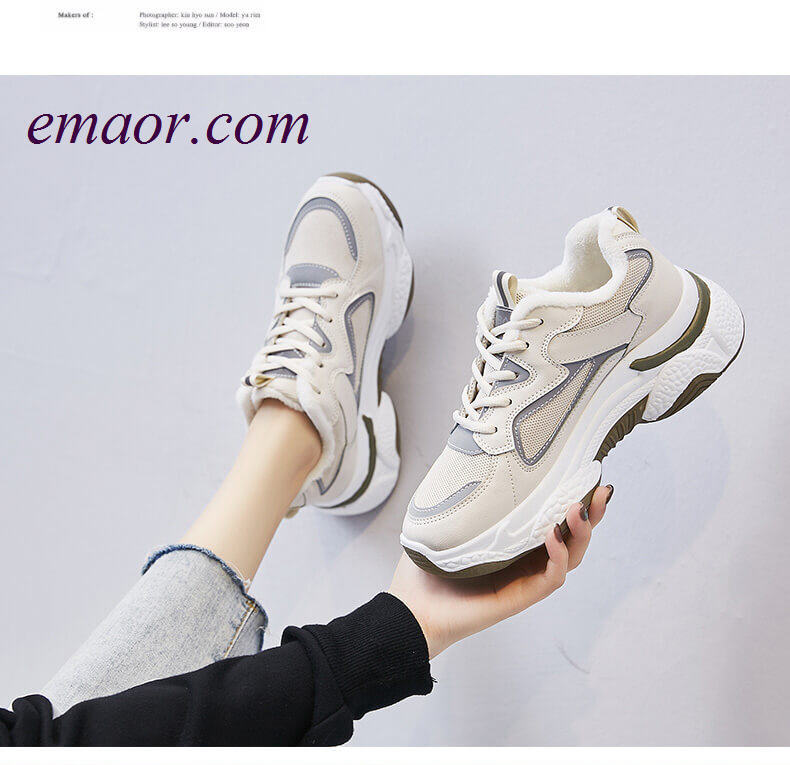Women's Dad Shoes Soft Shoes for Students Women's Chunky Dad Sneakers