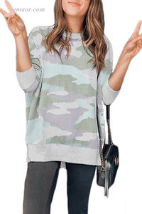 Baby Girl Digital Camo Print Sweatshirt Columbia Women's Outerwear