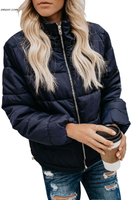 Wholesale Jackets & Coats Pocketed Puffer Jacket on Sale