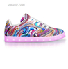 LIGHT UP TRAINERS LUCID DREAMS - APP CONTROLLED LOW TOP LED WALK SHOES