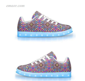 BestLed Sneakers 8-BIT TRIP-APP Controlled Low Top LED Shoes Energy Light Shoes